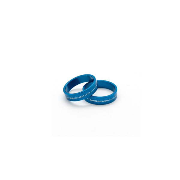 Barracuda universeller Einlegering für Lenkerendenspiegel blau