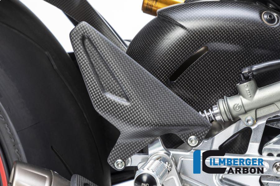 Ilmberger Carbon Fersenschützer rechts matt für Ducati Panigale V4 / V4S ab 2018