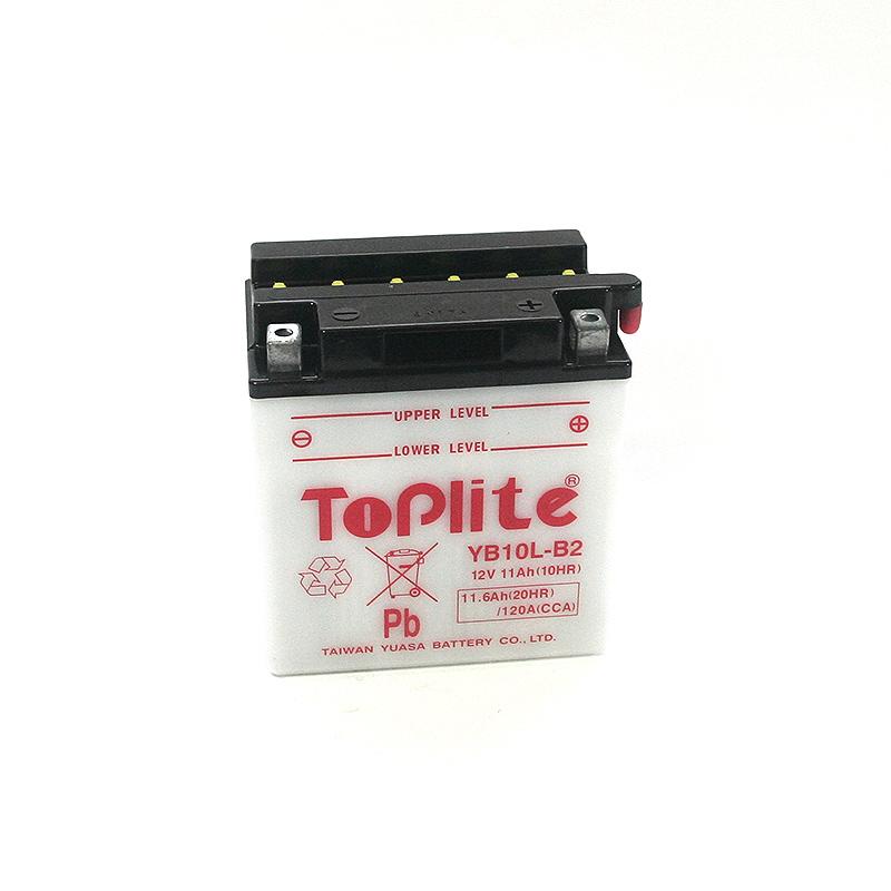ToPlite YUASA Batterie YB10L-B2