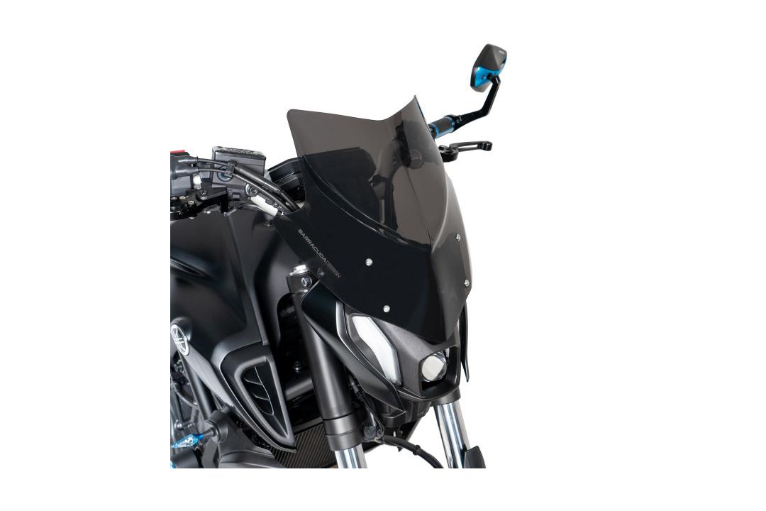 Barracuda Windschild Aerosport Plexiglas für Yamaha MT-07 2021 -