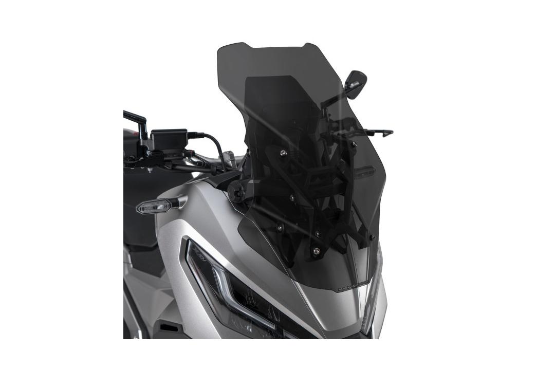 Barracuda Windschild Aerosport Plexiglas Rauchgrau dunkel für Honda X-ADV ab Modelljahr 2021-