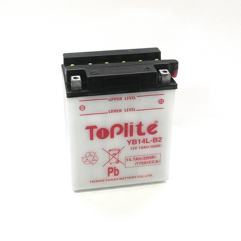 ToPlite YUASA Batterie YB14L-B2