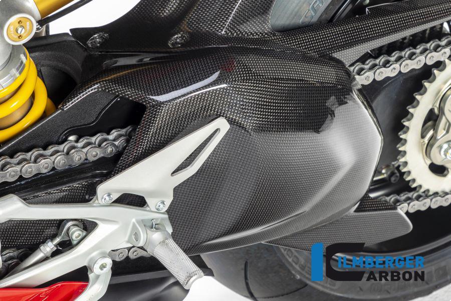 Ilmberger Carbon Schwingenabdeckungen glanz für Ducati Panigale V4 / V4S ab 2018