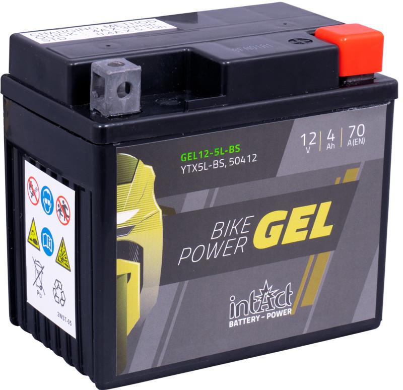 Intact GEL Batterie  YTX5L-BS / 50412