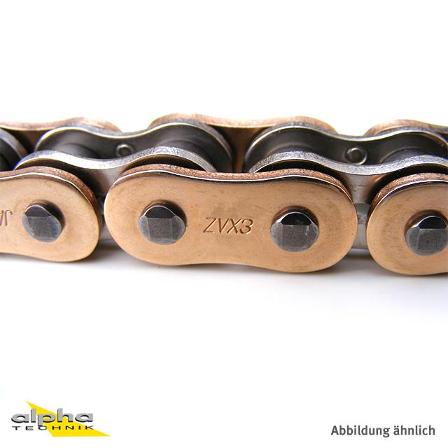 EK Chain ZVX-3 520 GOLD ultimative Sport-Bike-Kette - 118 Glieder