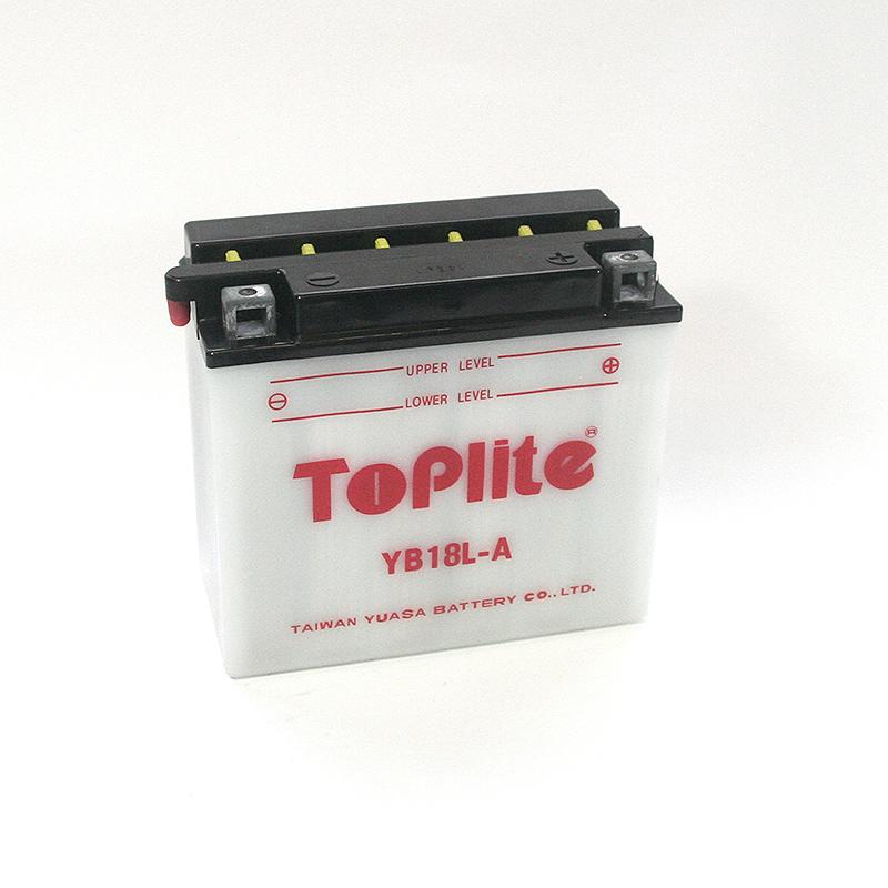 ToPlite YUASA Batterie YB18L-A