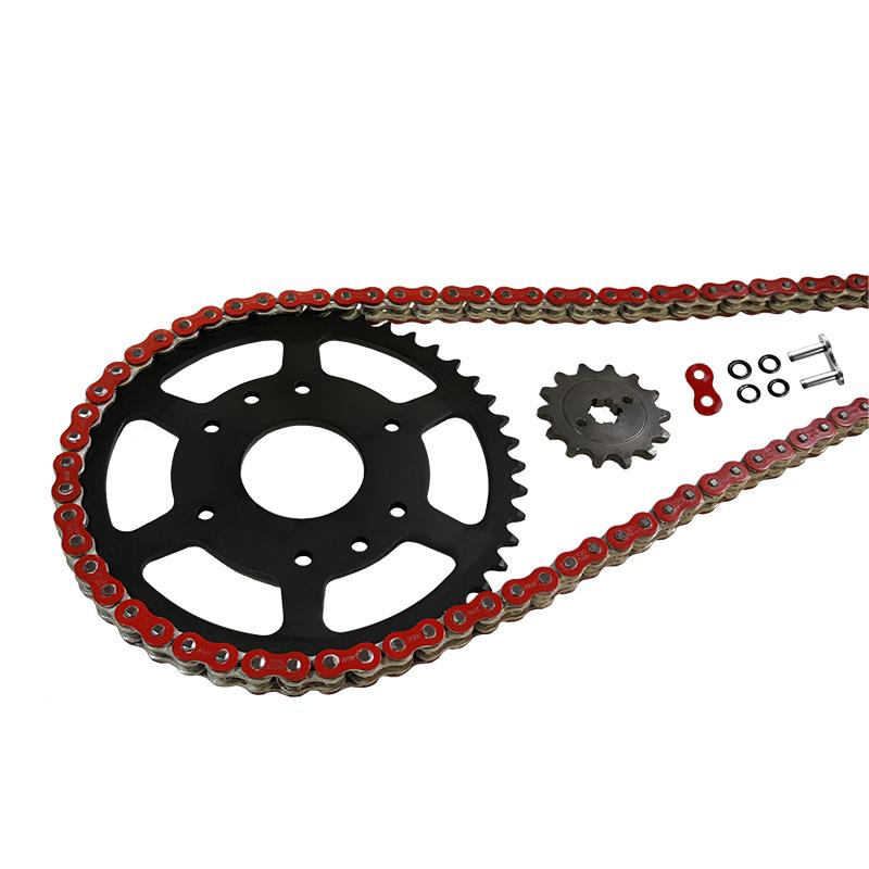 Kettensatz Teilung 520 MVXZ-2, Kette in rot