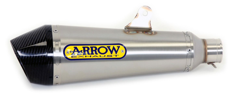 ARROW X-KONE Auspuff Hyperstrada/-motard 13- NiChr