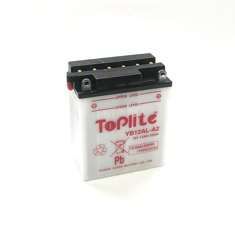 ToPlite YUASA Batterie YB12AL-A2