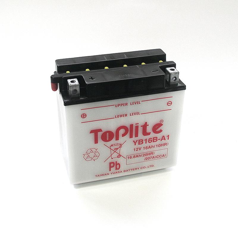 ToPlite YUASA Batterie YB16B-A1