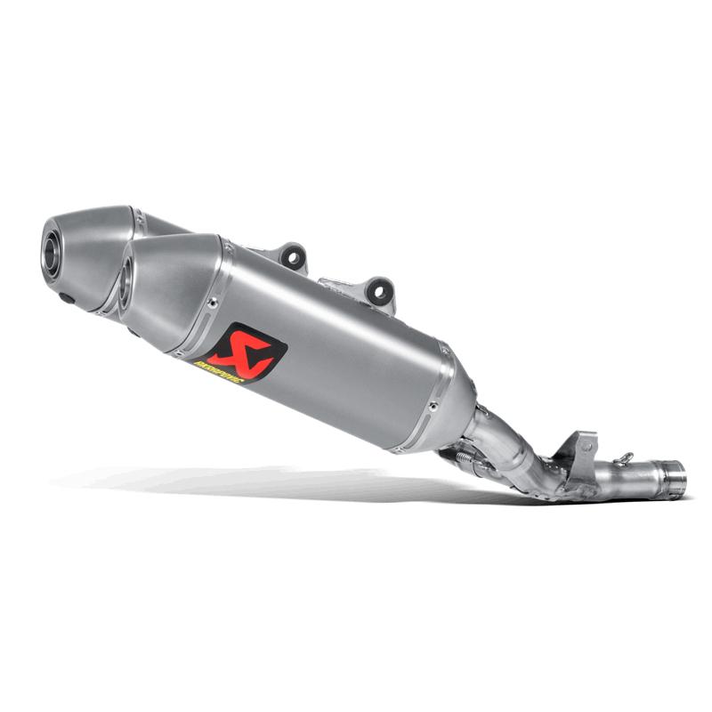 Akrapovic Slip-On Line (Titanium) Auspuff für Honda CRF250R 2016-2017