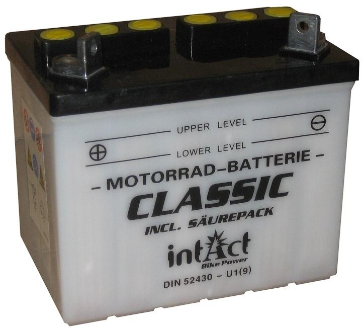 Intact Batterie  U1(9)