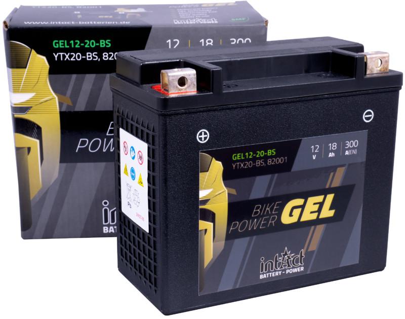 Intact GEL Batterie  YTX20-BS / 82001