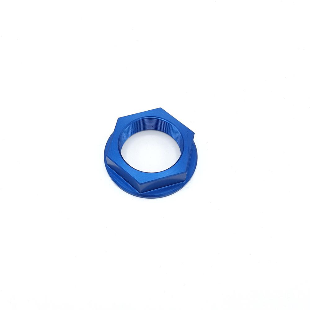BKG Steuerkopfmutter M 33 x 1, Alu Blau