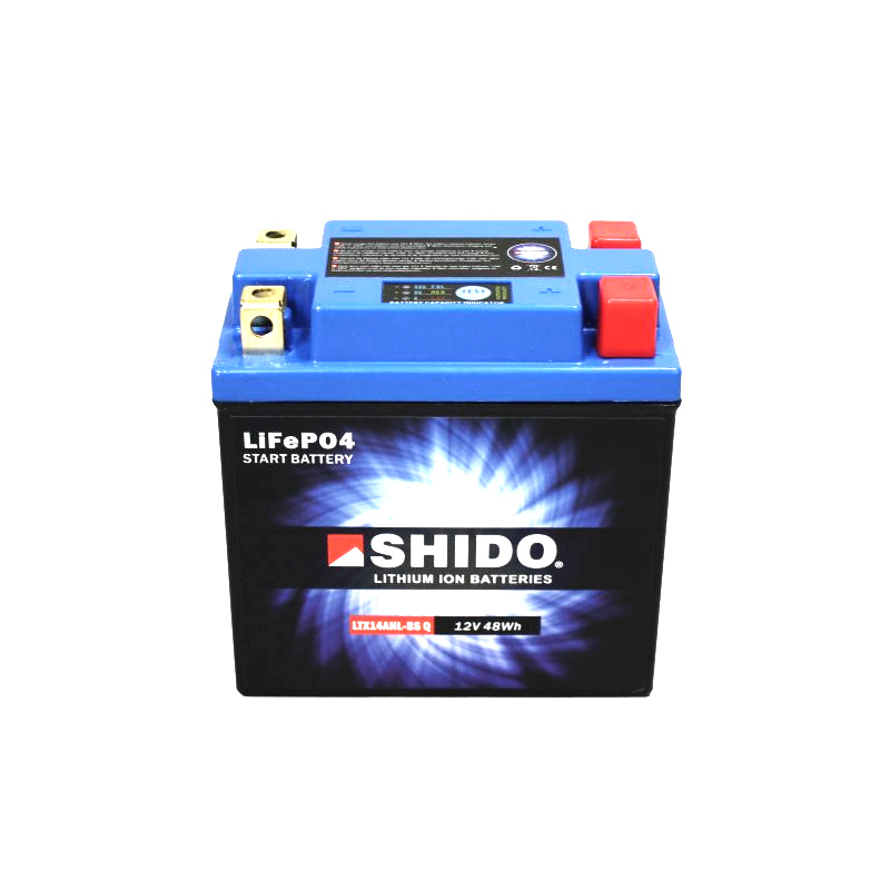 SHIDO Lithium-Batterie LTX14-BS-Li