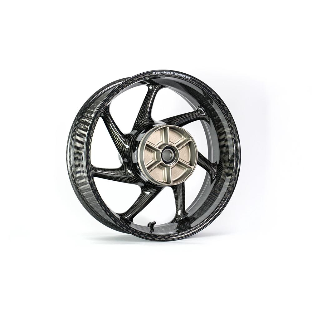 thyssenkrupp Carbon Felgen Style 1  für Suzuki GSX-S1000 / GSX-S1000F WDG0 und GSX-S1000S Katana