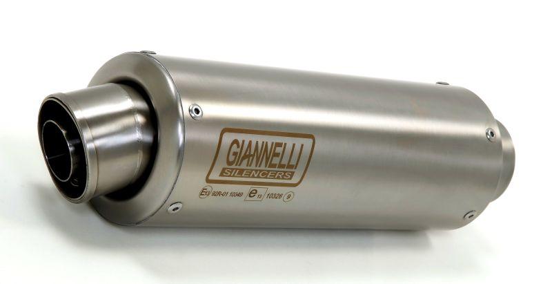 GIANNELLI Komplettanlage mit X-PRO Auspuff für Yamaha MT-125 Modelljahr 2014-16/2017- aus Edelstahl, ohne Katalysator