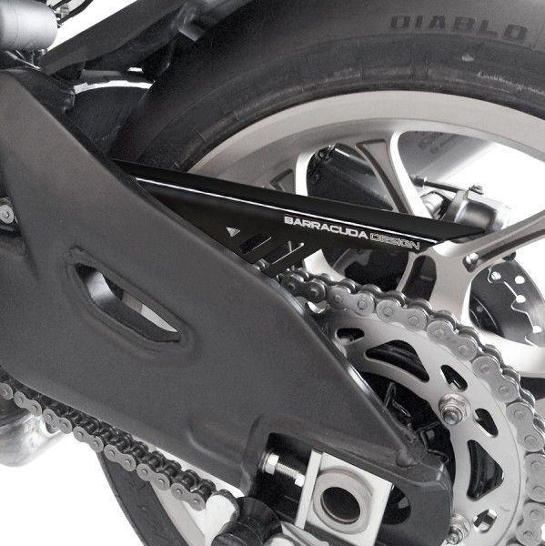 Barracuda Motorrad Kettenschutz Yamaha YZF-R1 2015-2019, MT10 2016-2018 schwarz