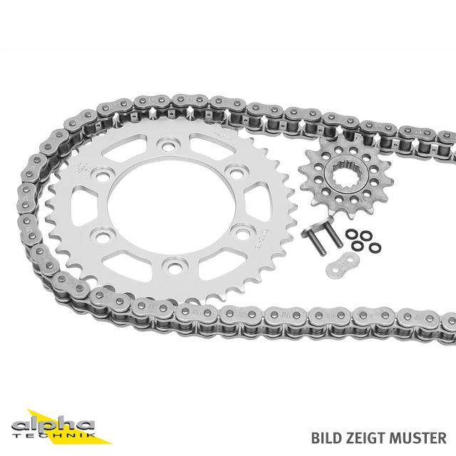 Kettensatz Teilung 520 ZVX-3, Kette in gold