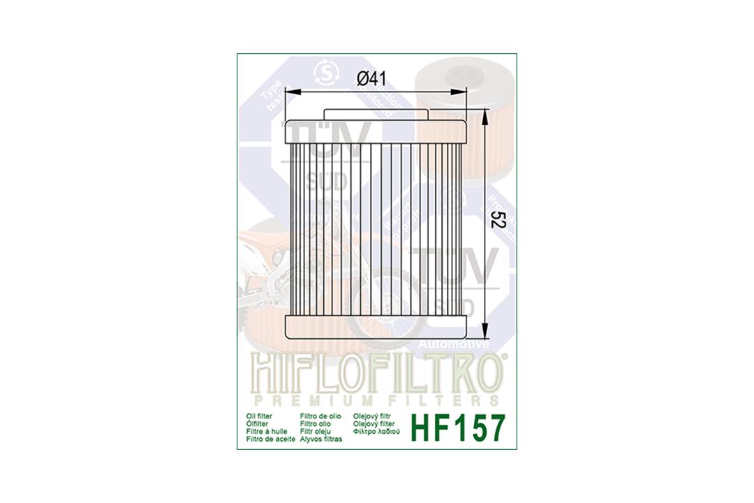 HIFLO Ölfilter HF157 für diverse Beta / KTM Modelle