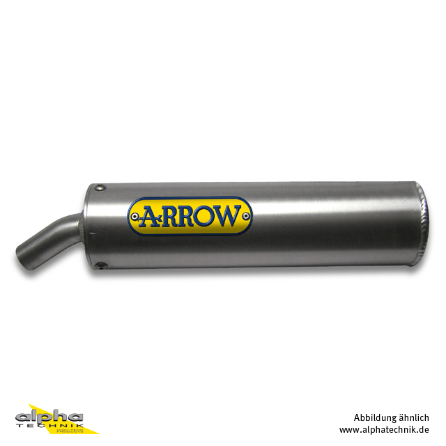 ARROW Street Auspuff Rieju MRX50 02- Titan