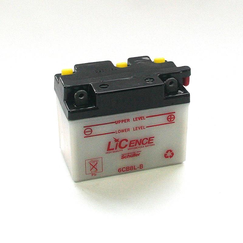 LICENCE Blei-Säure Batterie 6YB8L-B