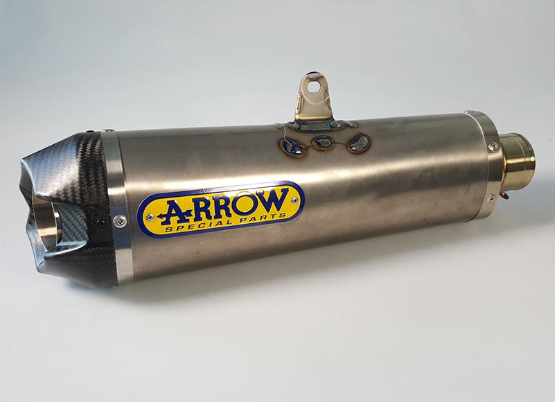 ARROW Works für Suzuki GSR750 C5 2011-2016 Titan