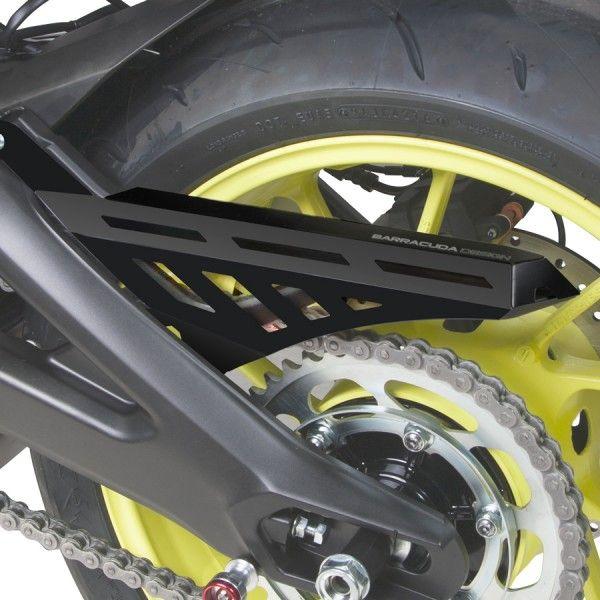 Barracuda Motorrad Kettenschutz Yamaha MT09 2017- schwarz