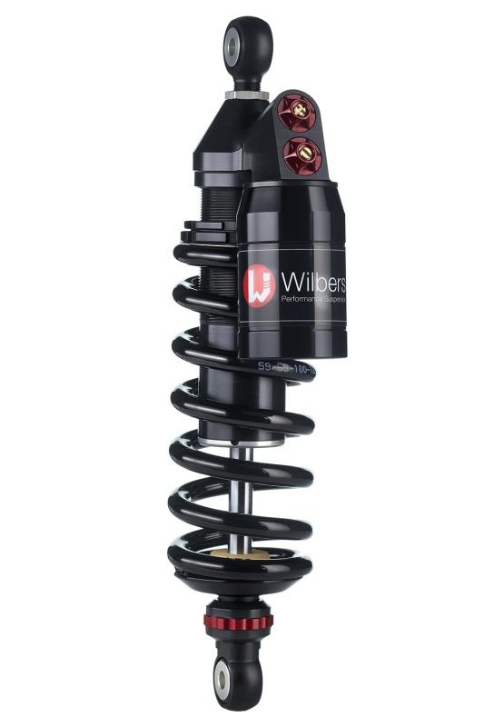 Wilbers Federbein 642 Adjustline für KTM 1050 Adventure 15- Tieferlegung -60 mm