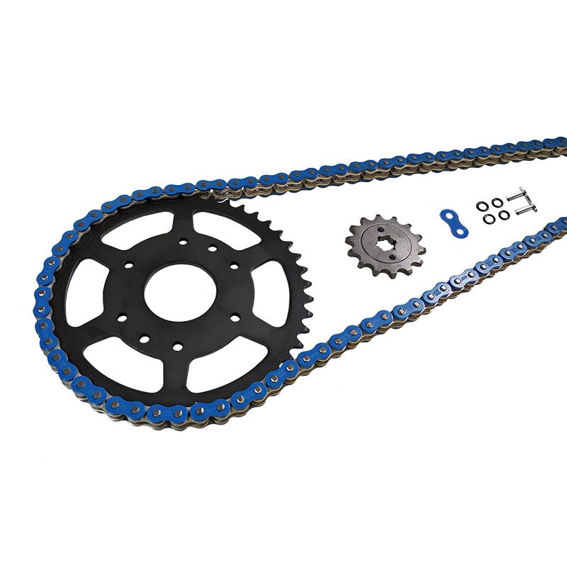 Kettensatz Teilung 525 MVXZ-2, Kette in blau