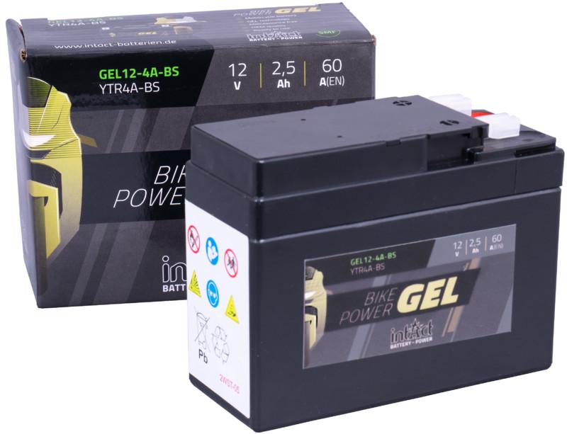 Intact GEL Batterie  YTR4A-BS