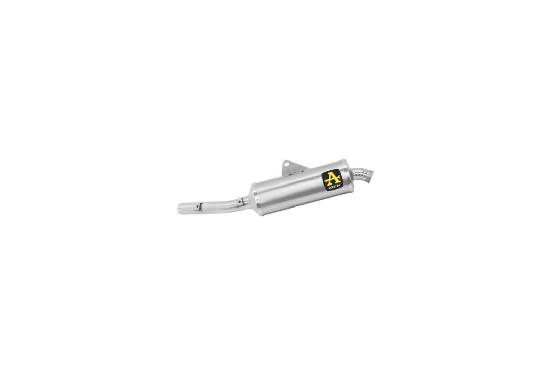 ARROW Auspuff INDY RACE Aluminium mit Titan-Endkappe für Yamaha Tenere 700 ab Modelljahr 2019-