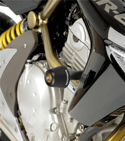 Barracuda Sturzpads für Kawasaki Er6-N 2005 - 2008 / Kawasaki Er6-N 2009 - 2011