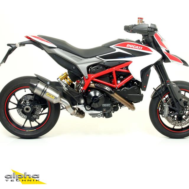 ARROW Auspuff RACE TECH für Ducati Hyperstrada / Hypermotard 821/939 2013- Titan