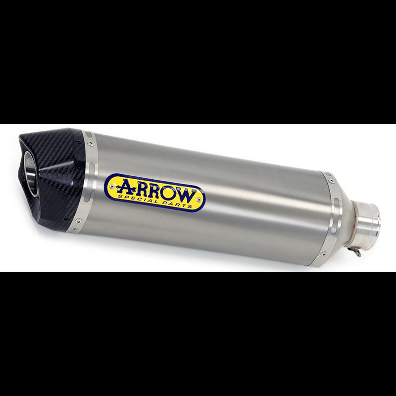 ARROW Auspuff RACE TECH für Kymco XCiting 400i S 2018-19 aus Titan