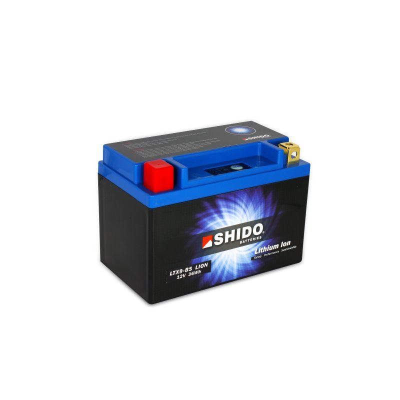 SHIDO Lithium-Batterie LTX9-BS Connect 3Ah