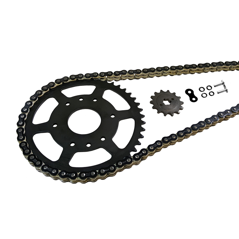 Kettensatz Teilung 520 MVXZ-2, Kette in schwarz