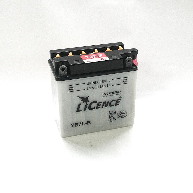 LICENCE Batterie YB7L-B