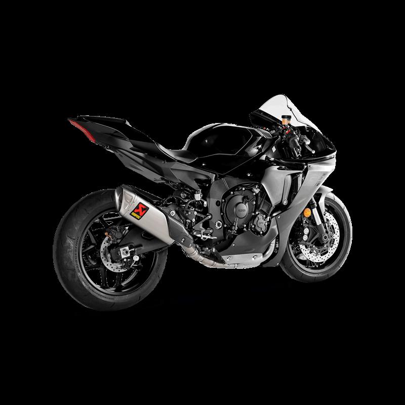 Akrapovic Evolution Line (Titanium) Auspuffanlage für Yamaha YZF-R1 Modelljahr 2020- / YZF-R1M 2020-