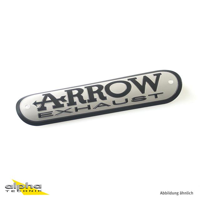 ARROW Schild Alu 135 x 34.6 mm