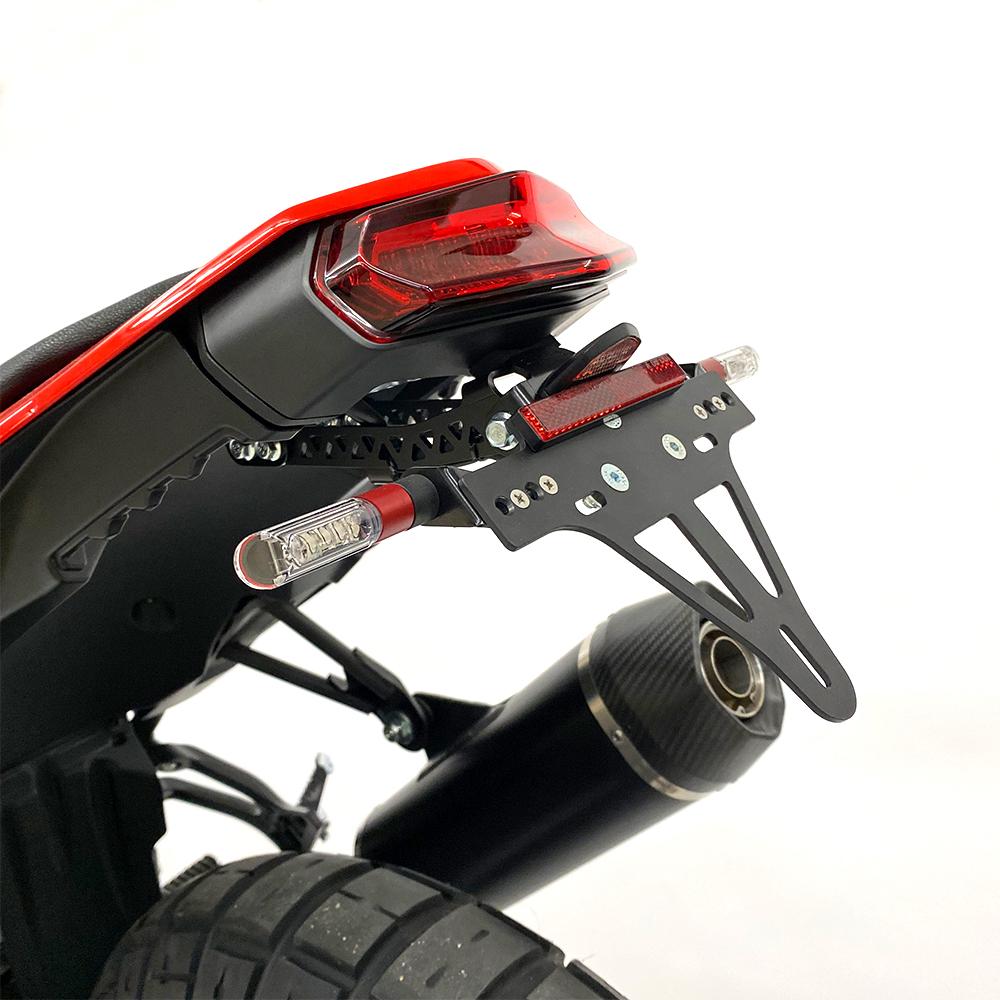 ARROW DARK INDY RACE Yamaha Tenere 700 ab Modelljahr 2019, Aluminium schwarz
