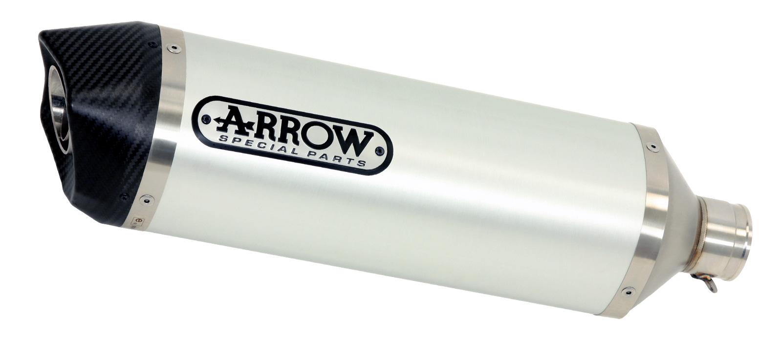 ARROW Auspuff RACE TECH für Kawasaki Z650 2017- aus Aluminium