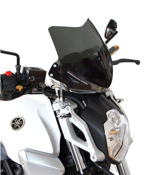 Barracuda Windschild Aerosport Plexiglas für Yamaha MT-03 2006 - 2014