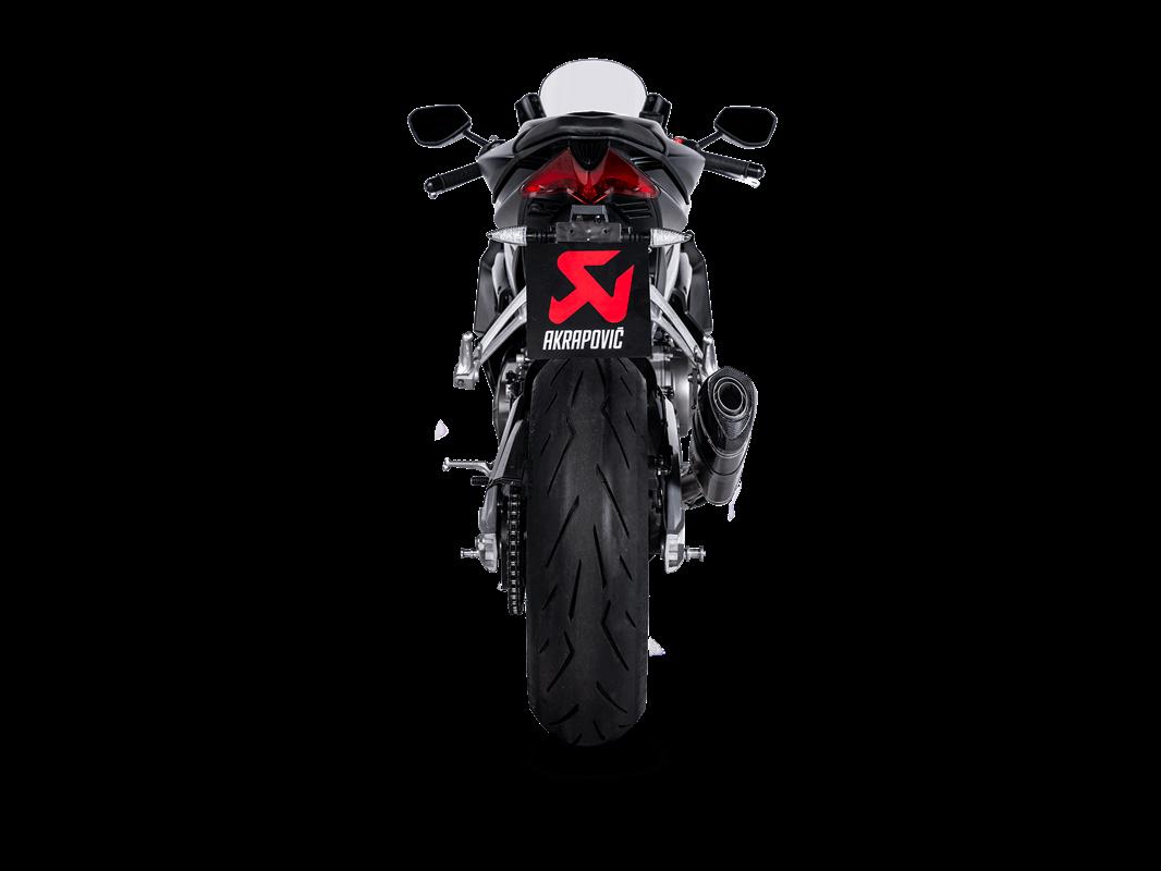 Akrapovic Racing Line (Carbon) Auspuffanlage für Aprilia RS660 2021- , Tuono 660 2021-  mit Straßenzulassung