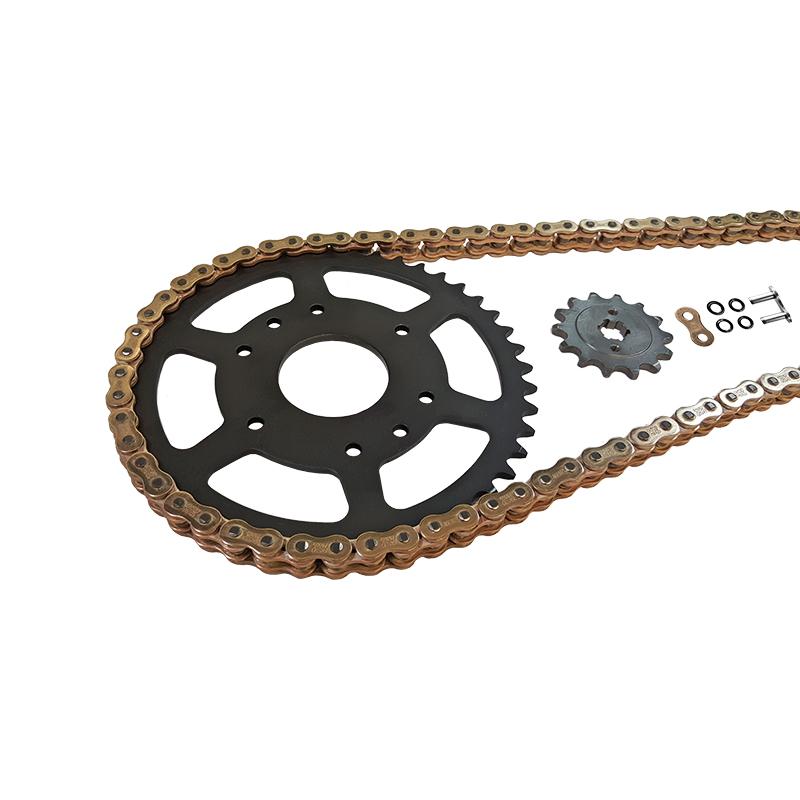 Kettensatz Teilung 520 MVXZ-2, Kette in gold
