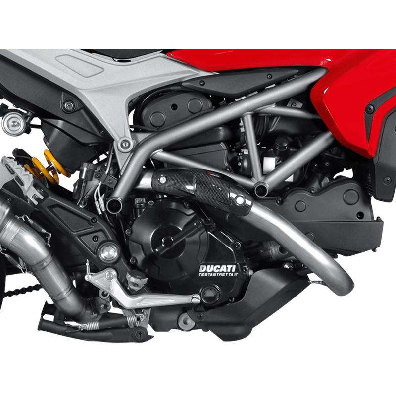 Akrapovic Heat shield (Carbon) Auspuffanlage für Ducati Hypermotard /Hyperstrada Modelljahr 2013-2018