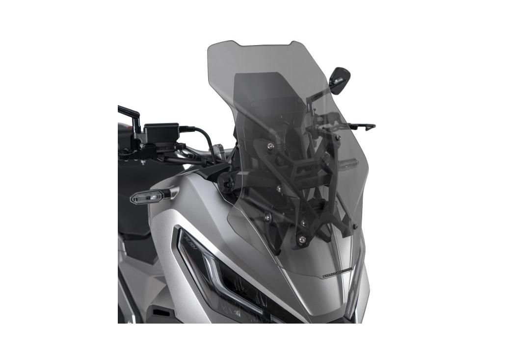 Barracuda Windschild Aerosport Plexiglas Rauchgrau hell für Honda X-ADV ab Modelljahr 2021-