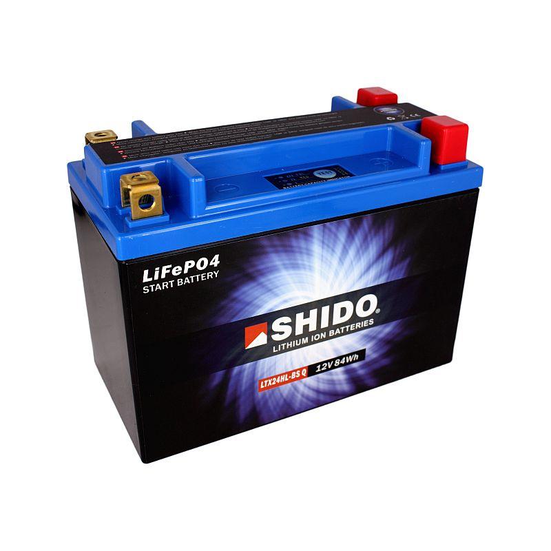 SHIDO Lithium-Batterie LTX24HL-BS-Li