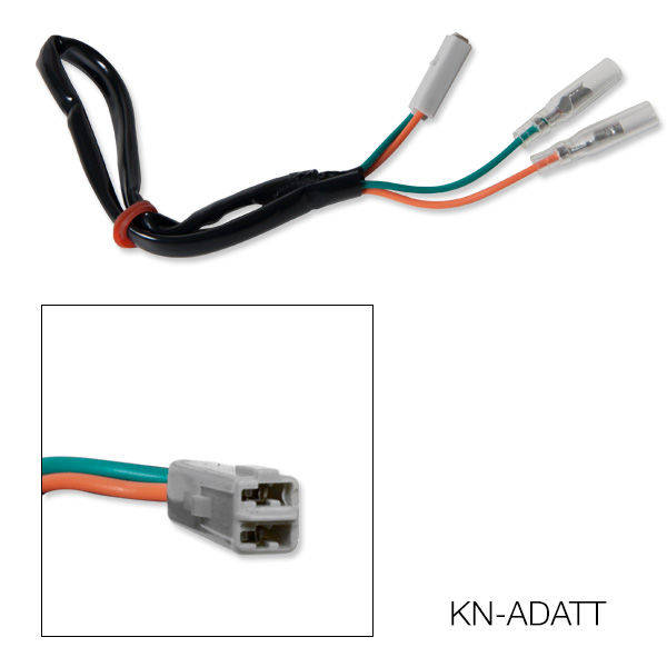 Barracuda Blinker Adapterkabel für Kawasaki (Paar)