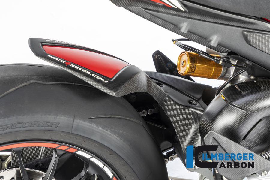 Ilmberger Carbon Kotflügel hinten matt für Ducati Panigale V4 / V4S ab 2018